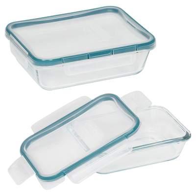 Snapware Total Solution Pyrex Glass Food Storage 4-Pc Set