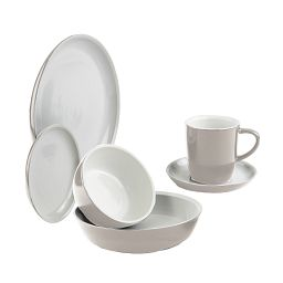 6-pc Truffle Dinnerware Set
