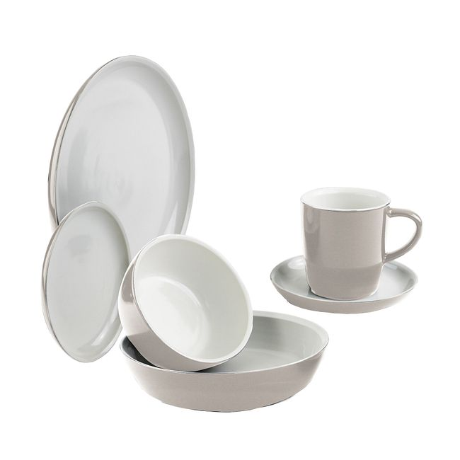 Truffle 6-pc Dinnerware Set