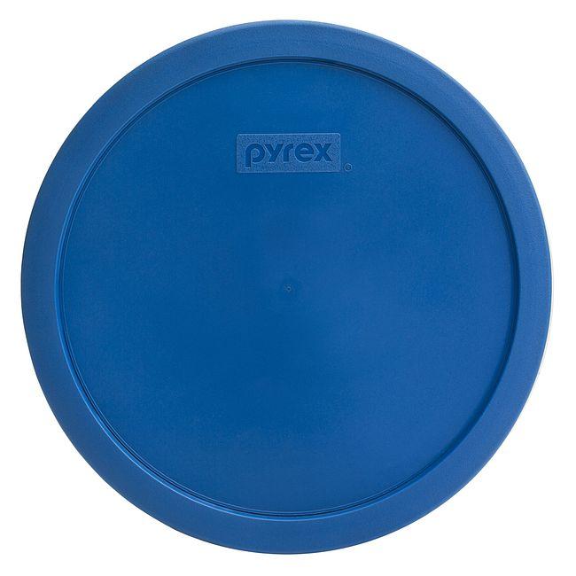 2.5-qt Round Plastic Lid, Lake Blue