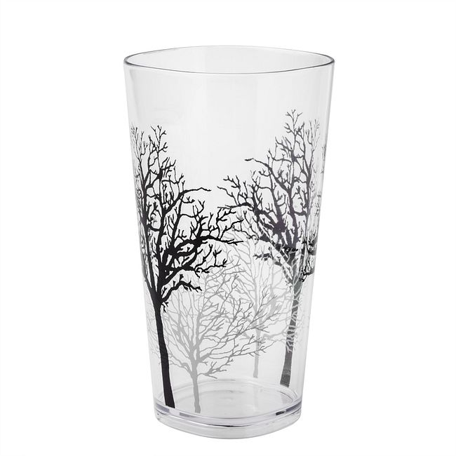 Timber Shadows 19-ounce Acrylic Drinking Glass
