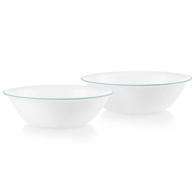Verde Banded 2-quart Serving Bowls, 2-pack