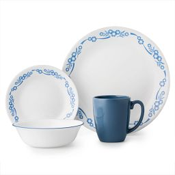 Livingware Cornflower 16-pc Dinnerware Set