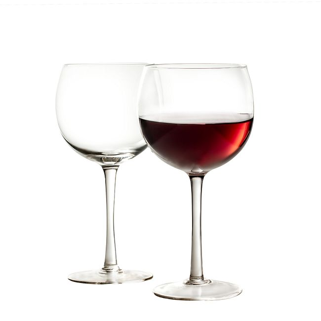 Vienna Balloon 22-ounce Wine Glass Set, 4-pk