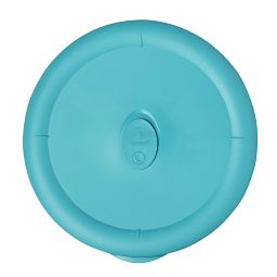 Turquoise Vented Lid for 3-quart Glass Food Storage Container