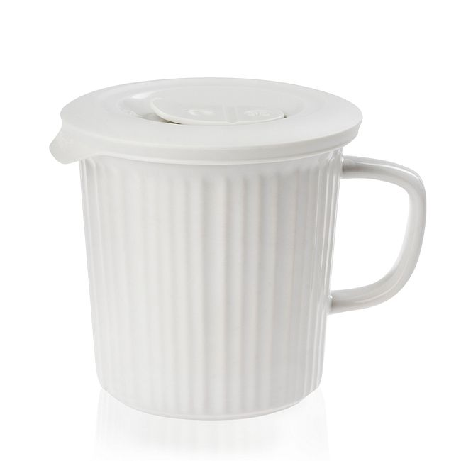 Powder 24-ounce Meal Mug™ with White Lid