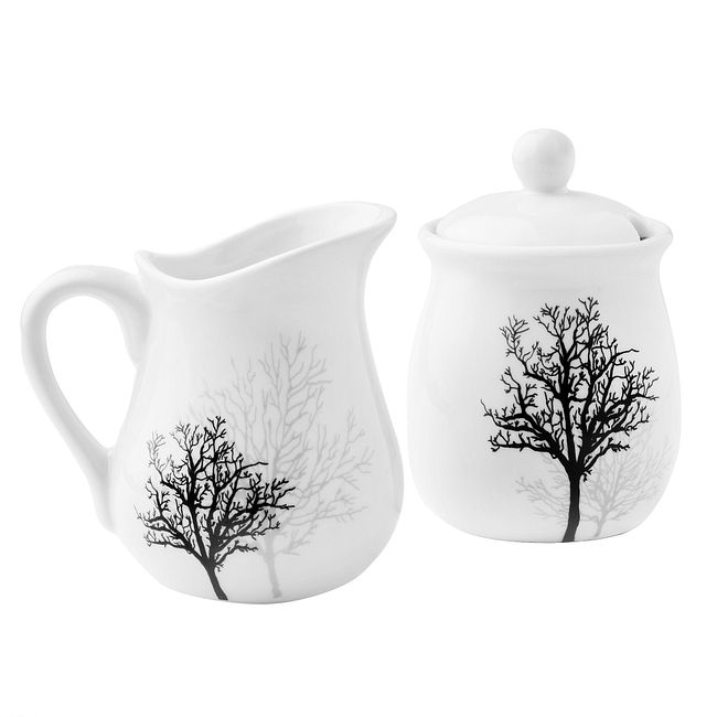 Timber Shadows Sugar & Creamer Set