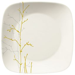 Market Street New York Gilded Woods Dinner Plate