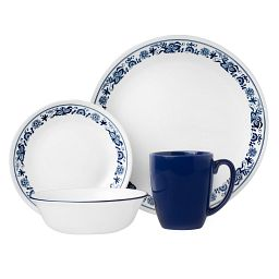 Livingware™ Old Town Blue 16-pc Dinnerware Set
