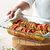 Easy Grab Oblong Baking Dish with Food Inside