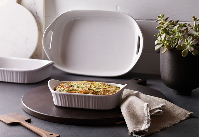 French White Bakeware