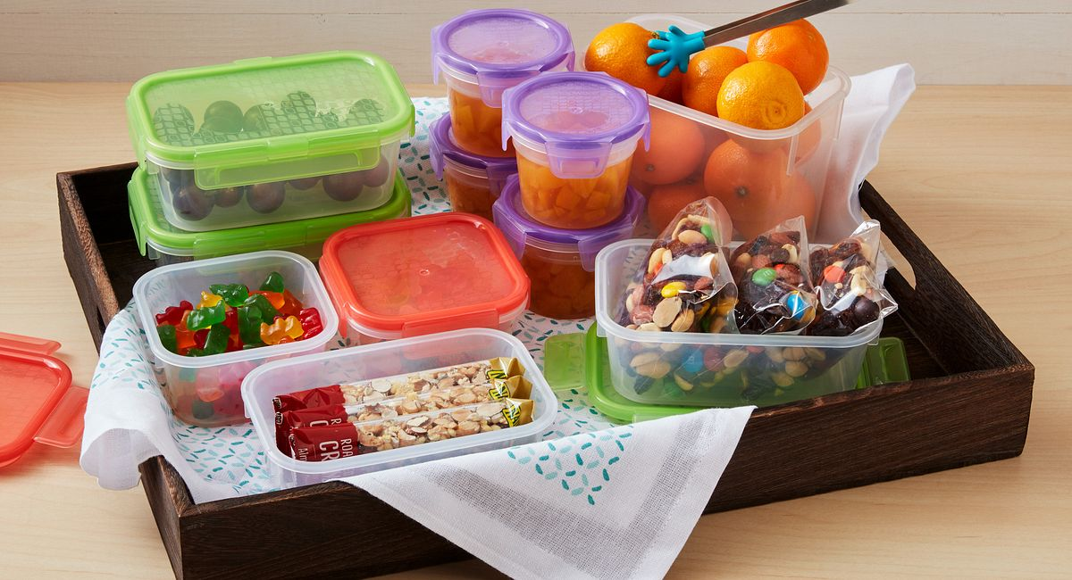 Build a Lunch Box Station