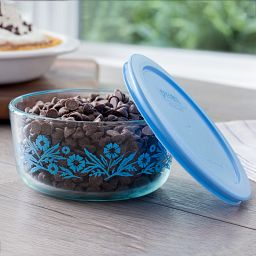 Simply Storage® 4 Cup Cornflower Storage Bowl w/Chocolate Chips