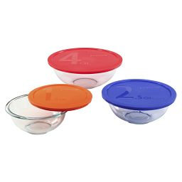 Smart Essentials 6-pc Mixing Bowl Set