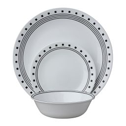 City Block 18-pc Dinnerware Set