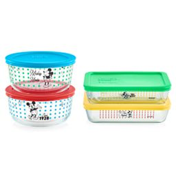 8-pc Set: Mickey Mouse™ Decorated Storage - The True Original