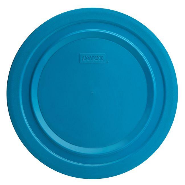 4.5-qt Round Plastic Lid, Marine Blue