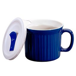 Colours® Pop-Ins® Blueberry 20-ounce Mug with Vented Lid