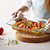 Easy Grab Oblong Baking Dish Set with Food Inside