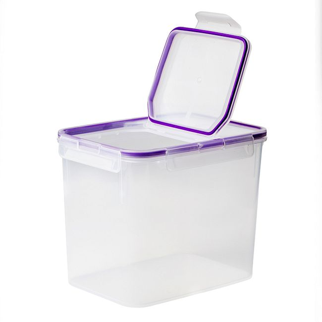 Airtight 17-cup Plastic Food Storage Container