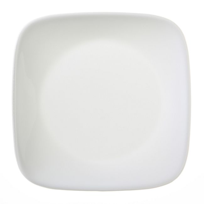 "Pure White 6.5"" Appetizer Plate"
