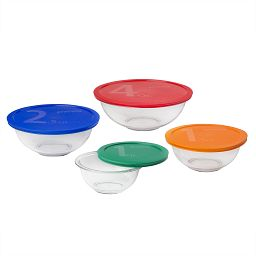 Smart Essentials 8-pc Mixing Bowl Set