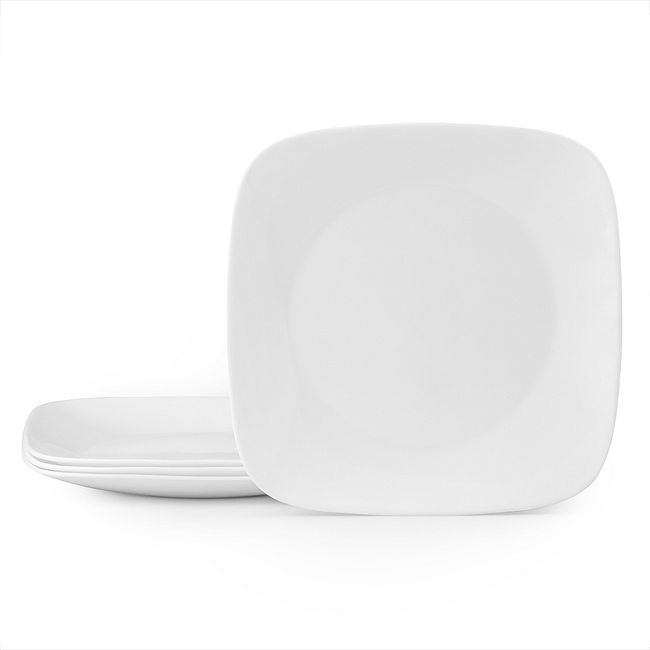"Vivid White 11"" Dinner Plate Value Pack of 4"