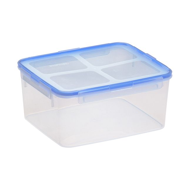 Airtight 18.5-cup Plastic Food Storage Container