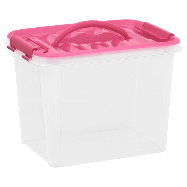 "12"" x 9"" Home Storage Container with Handles"