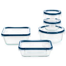 FreshLock Plus™ Glass Storage with Microban 10-piece Set
