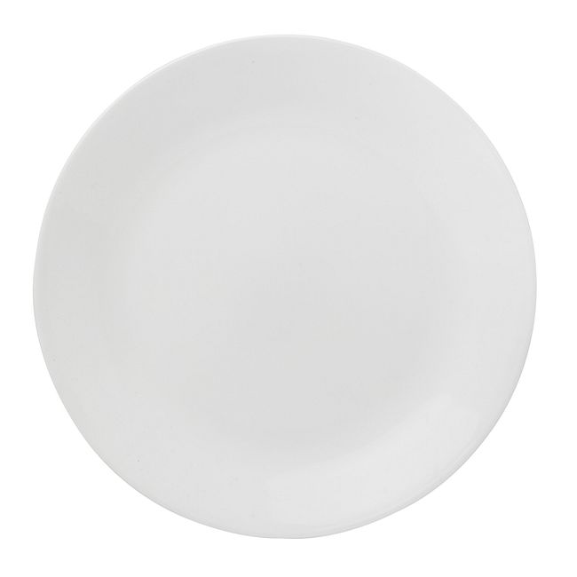 "Winter Frost White 8.5"" Salad Plate"