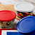 Simply Store 4 Cup Round Storage Dish with food in bowls