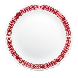 "Signature Prairie Garden Red 10.25"" Dinner Plate"