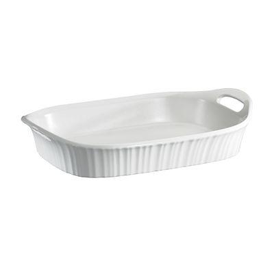 Corningware French White 3-Qt Oblong Casserole