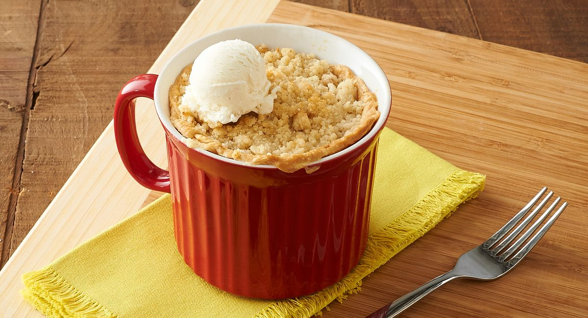Crumbly French Apple Pie