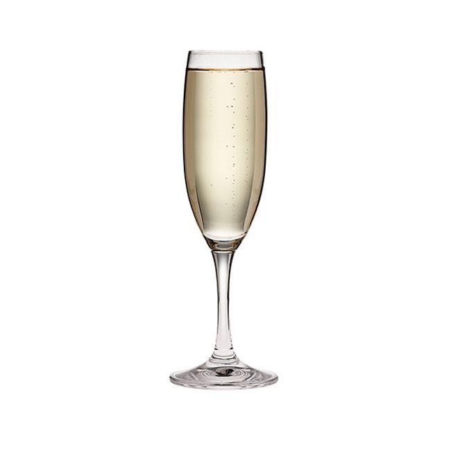 Florentine 6-ounce Glass Flute Stemware