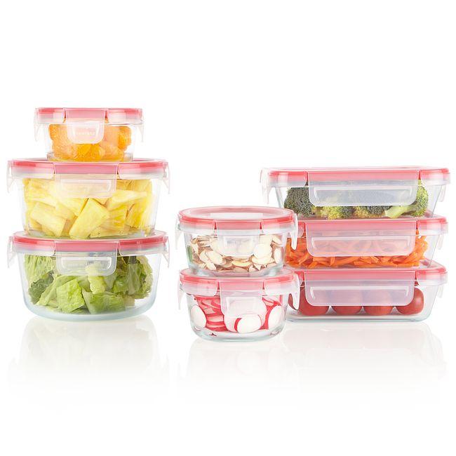 Freshlock™ 16-piece Glass Storage Set