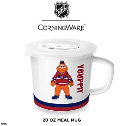 HL® Montreal Canadiens® 20-ounce Meal Mug™, Youppi!® with Lid