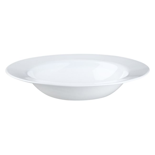 Dazzling White 28-ounce Large Soup Bowl