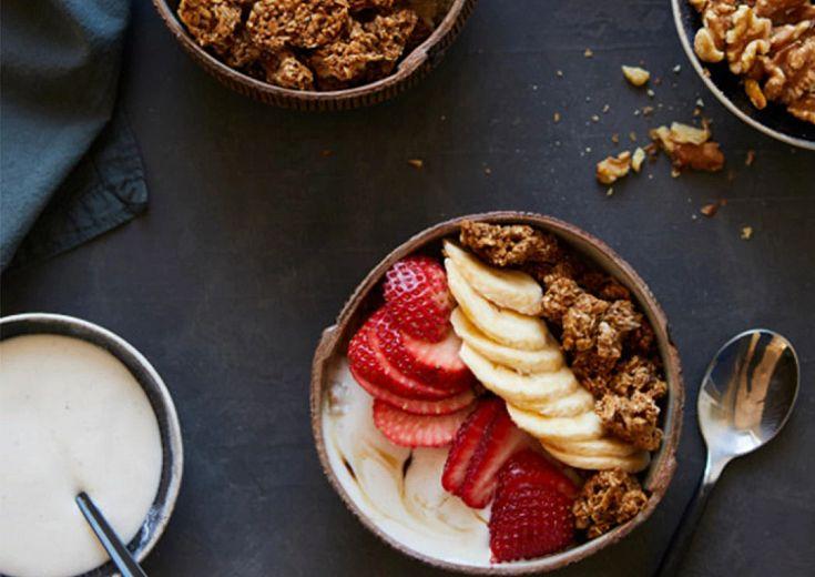Fruity Quinoa & Granola Bowls