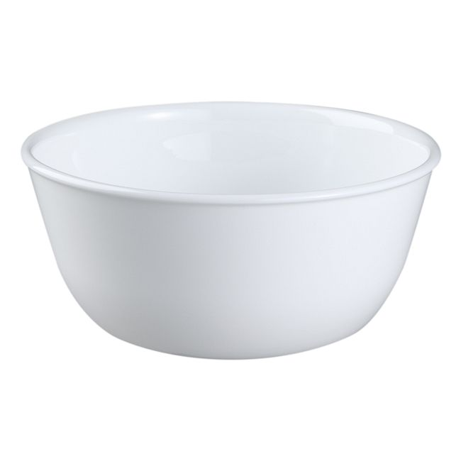Winter Frost White 28-ounce Large Soup Bowl