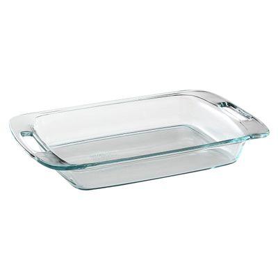 Pyrex Easy Grab 3-Qt Oblong Baking Dish