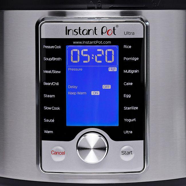 Instant Pot® Ultra™ 6-quart Multi-Use Pressure Cooker