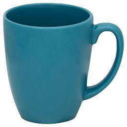 Livingware™ 11-oz Stoneware Mug, Teal