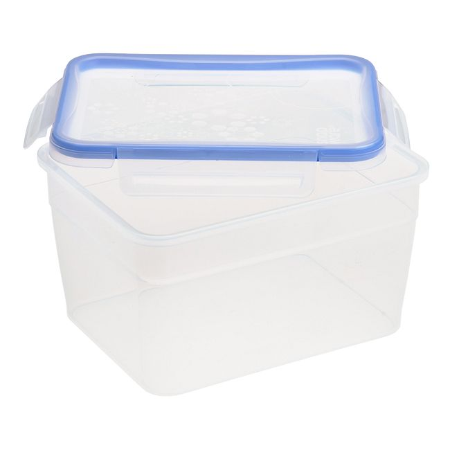 Total Solution Plastic Food Storage 15.89 Cup, Rectangle
