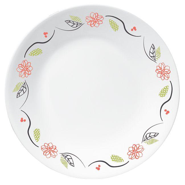 """Tangerine Garden 6.75"""" Appetizer Plate"""