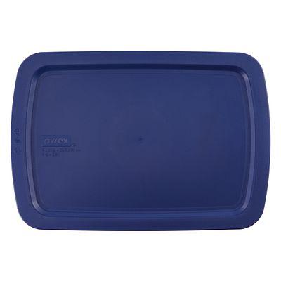 Pyrex Easy Grab 3-Qt Blue Plastic Lid