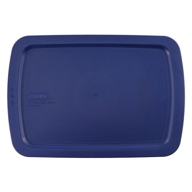 Blue Lid for 3-quart Rectangular Baking Dish