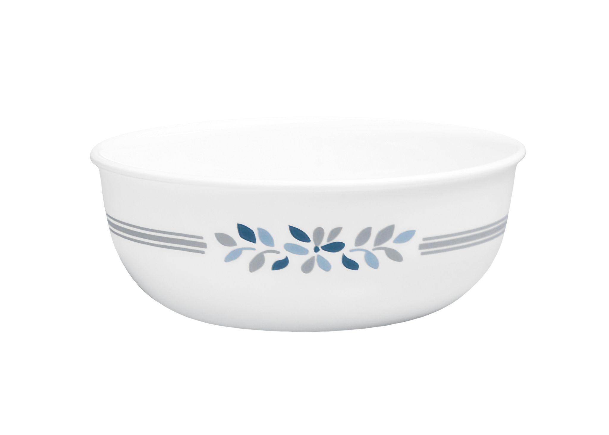 Prairie Garden Gray 16-ounce Small Soup Bowl