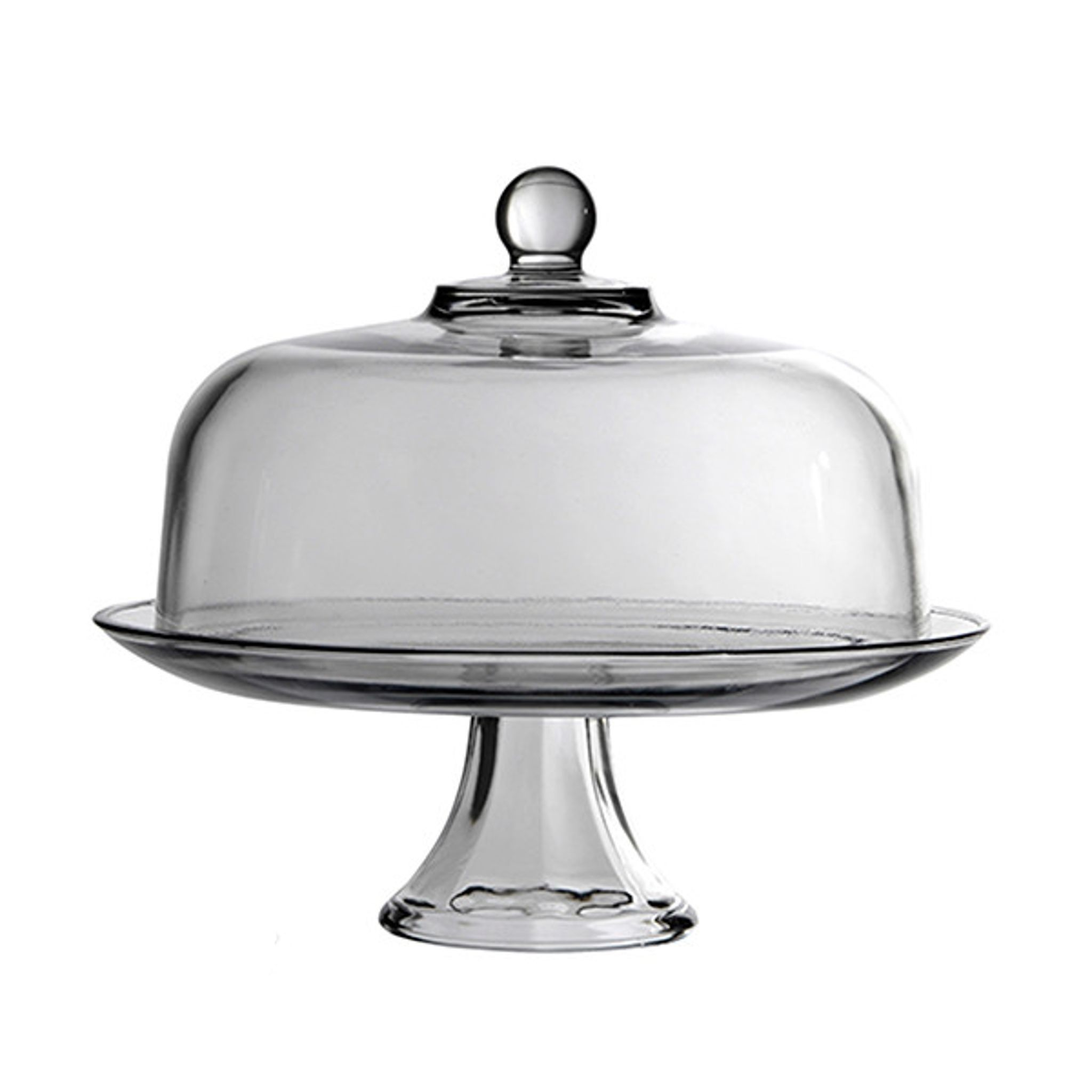 Presence Cake Plate with Dome